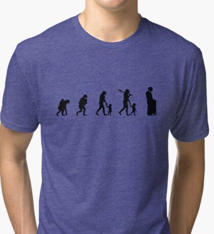 99 Steps of Progress - Child protection Tri-blend T-Shirt