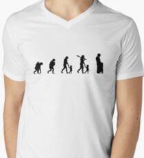 99 Steps of Progress - Child protection Men's V-Neck T-Shirt
