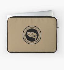 The Society of Palaeontology Fanciers (Black on Light) Laptop Sleeve