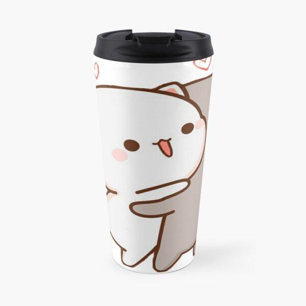 Hugging Cats, Cute Love Travel Mug