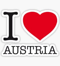 I ♥ AUSTRIA Sticker
