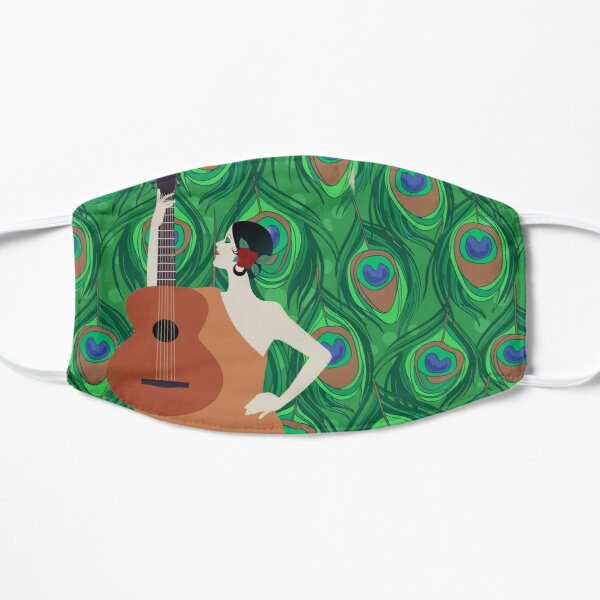 The Peacock Musician  Mask