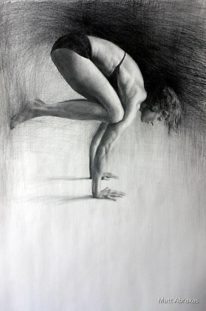 Bakasana by Matt Abraxas