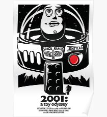 Toy Stories - 2001 A Space Odyssey Poster