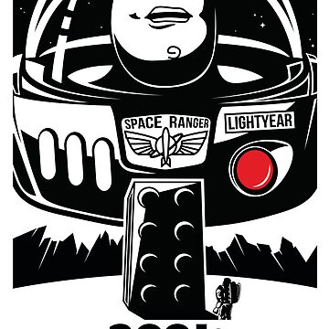 Toy Stories - 2001 A Space Odyssey by Graphiccontent