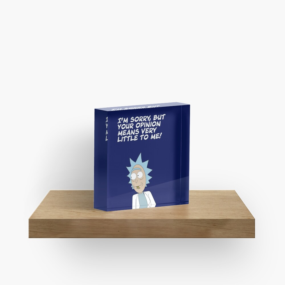 Your opinion Acrylic Block