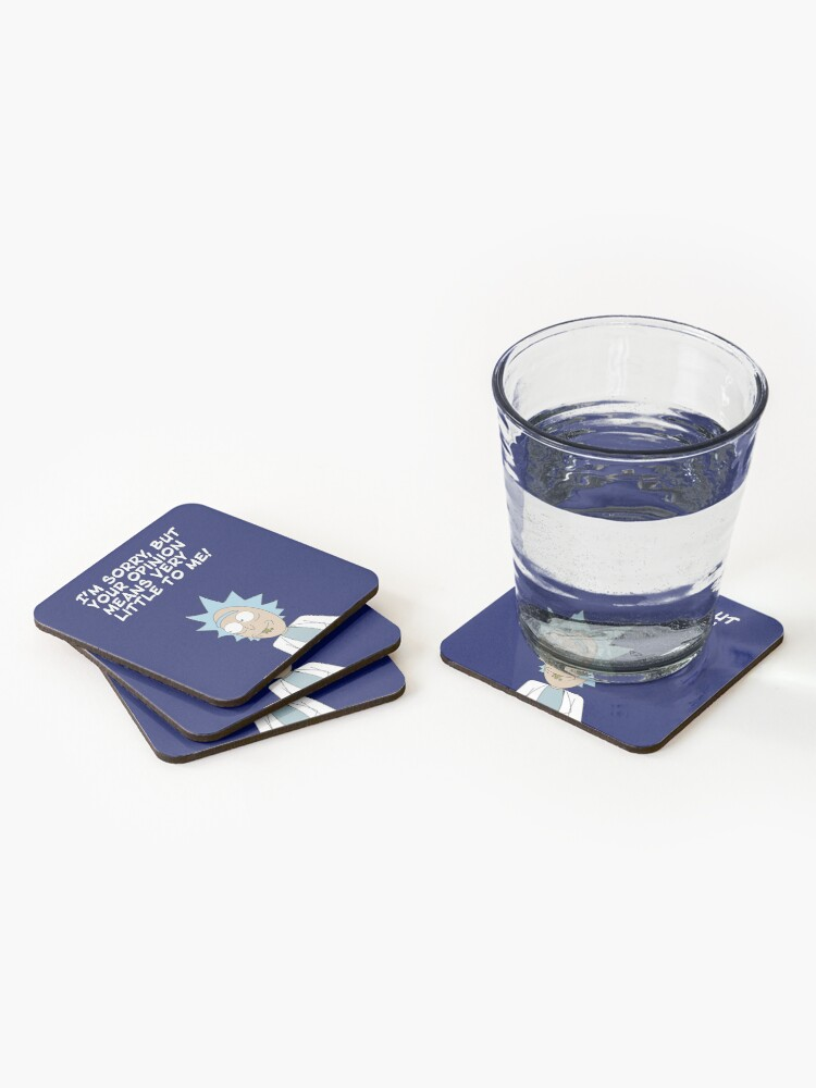 Alternate view of Your opinion Coasters (Set of 4)