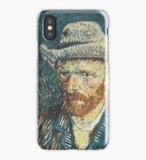 Van Gogh iPhone 5 Case - Self-Portrait with Felt Hat iPhone Case/Skin