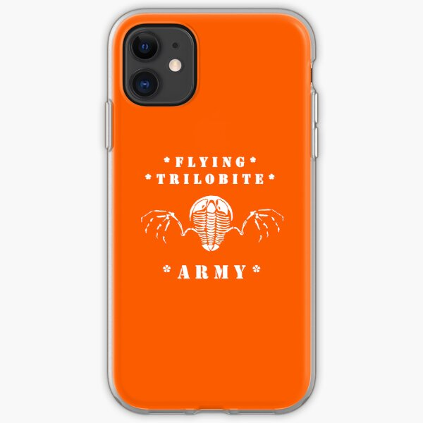 Flying Trilobite Army iPhone Soft Case
