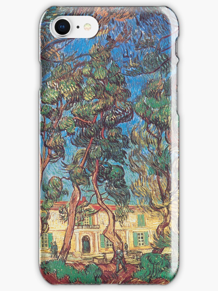 Van Gogh iPhone 5 Case - The Grounds of the Asylum by VanGoghCases
