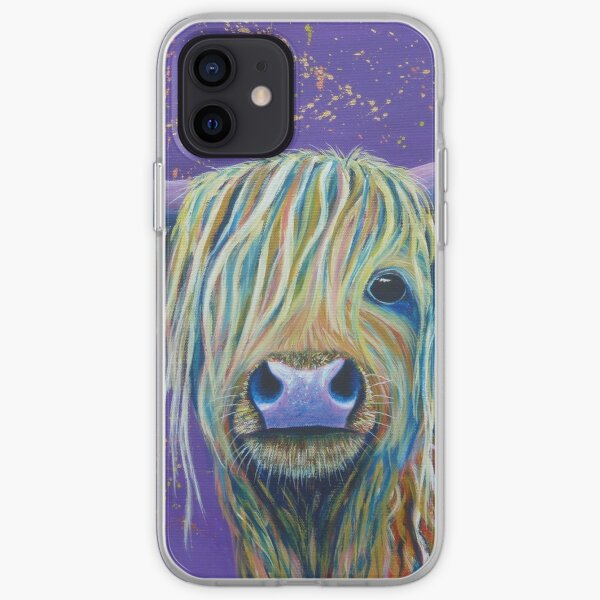 Woolly Bully (Cow) iPhone Soft Case