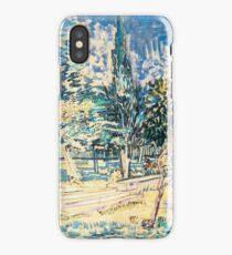 Van Gogh iPhone 5 Cases - Stone Steps in the Asylum Garden iPhone Case/Skin