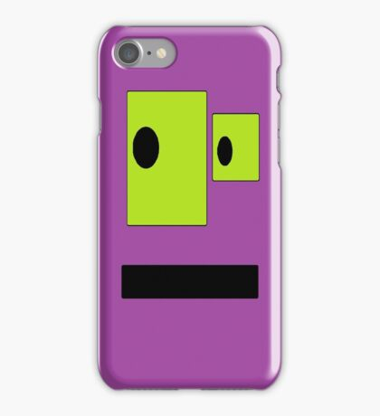The Purple Blob iPhone Case/Skin