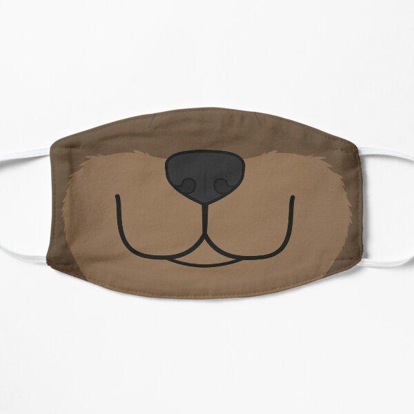 Bear Booper Flat Mask
