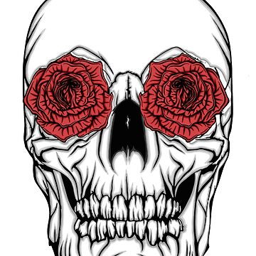 Skull and Roses by Danonymous84