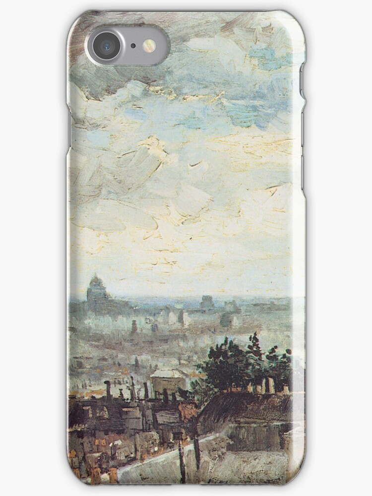 Van Gogh iPhone 5 Case - The Roofs of Paris by VanGoghCases