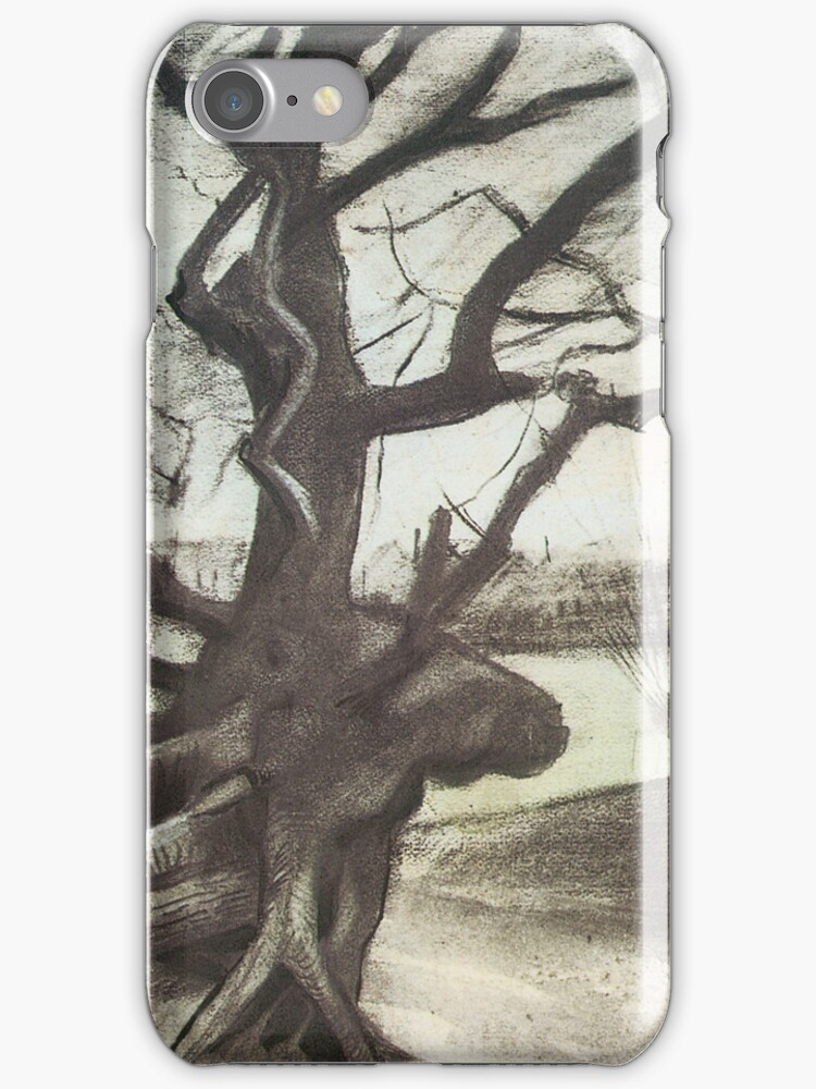 Van Gogh iPhone 5 Case - Study of a Tree by VanGoghCases