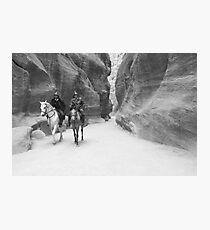 Mounted Patrol Photographic Print