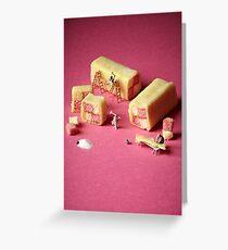 Battenberg builders Greeting Card