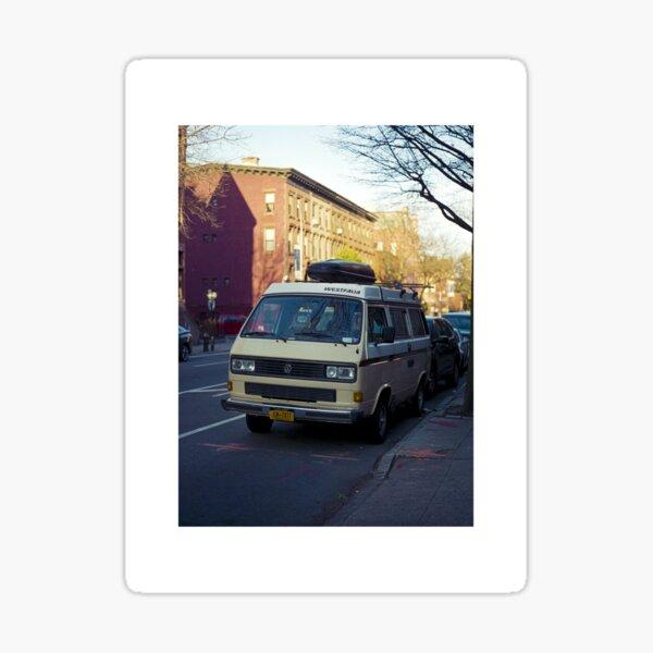 car in brooklyn Sticker