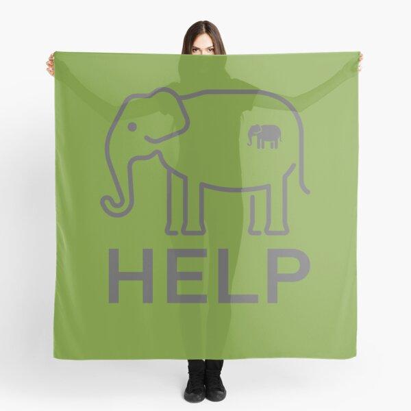Help Kerala elephants Scarf