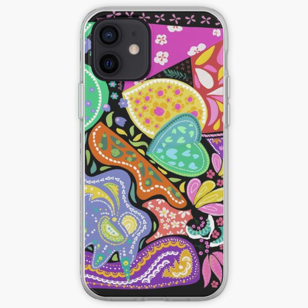 Play with Fun Shapes iPhone Soft Case