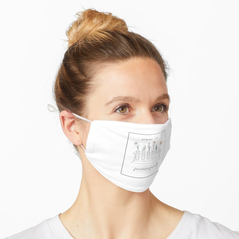 Garden of Test Tubes Mask