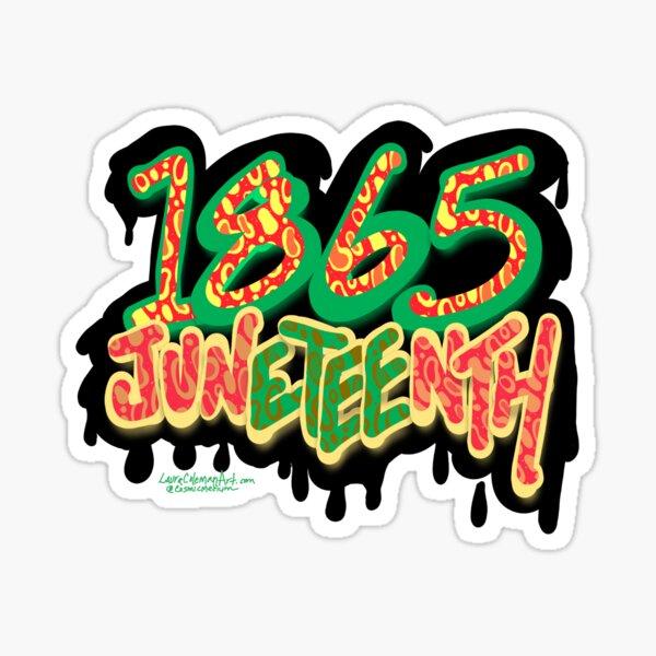 Juneteeth Sticker