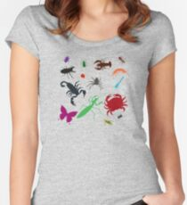 I Am Thankful For Arthropods Fitted Scoop T-Shirt