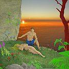 Adam and Eve. by albutross