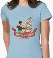 Punch'em Out! Womens Fitted T-Shirt