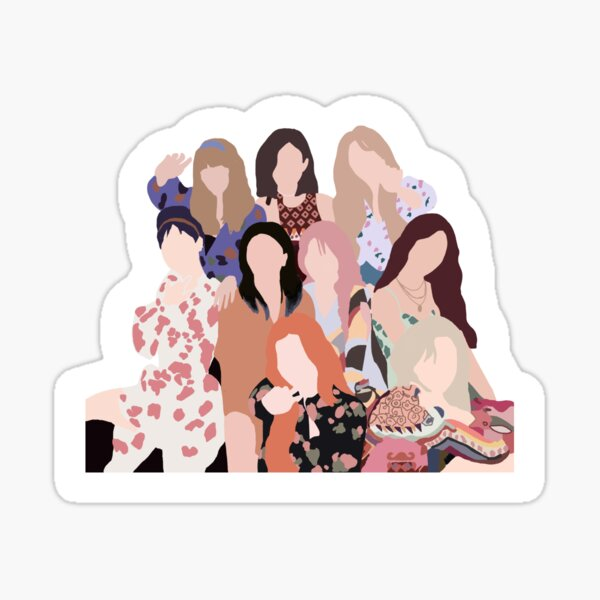 Twice- More and More Sticker