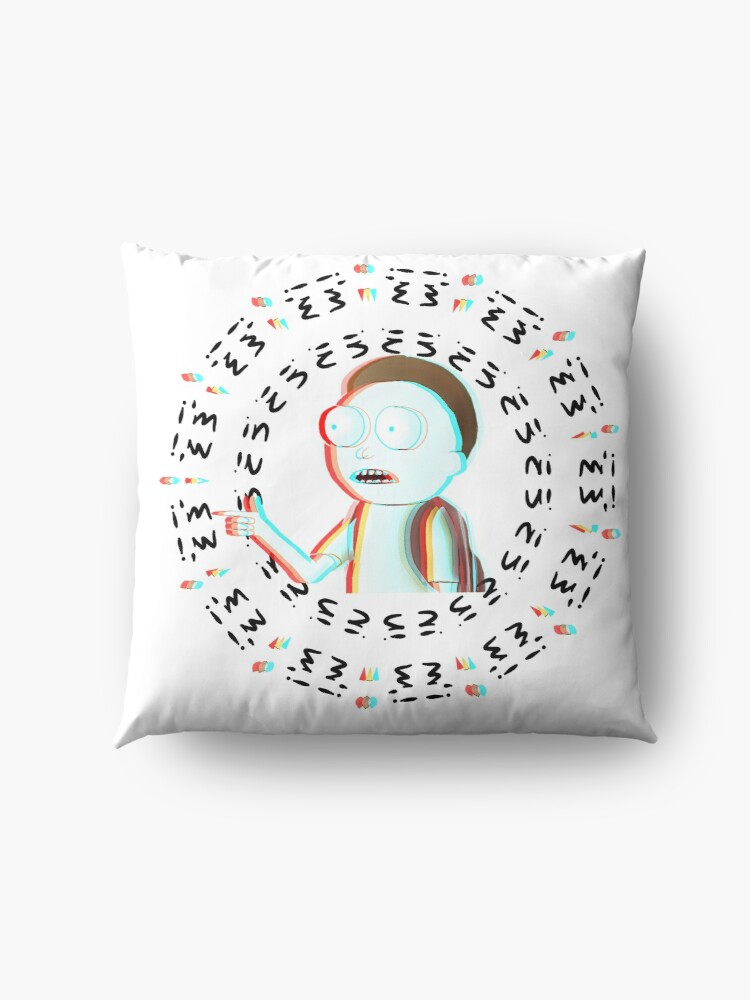 Alternate view of Rick and Morty TM - I'm In  Floor Pillow