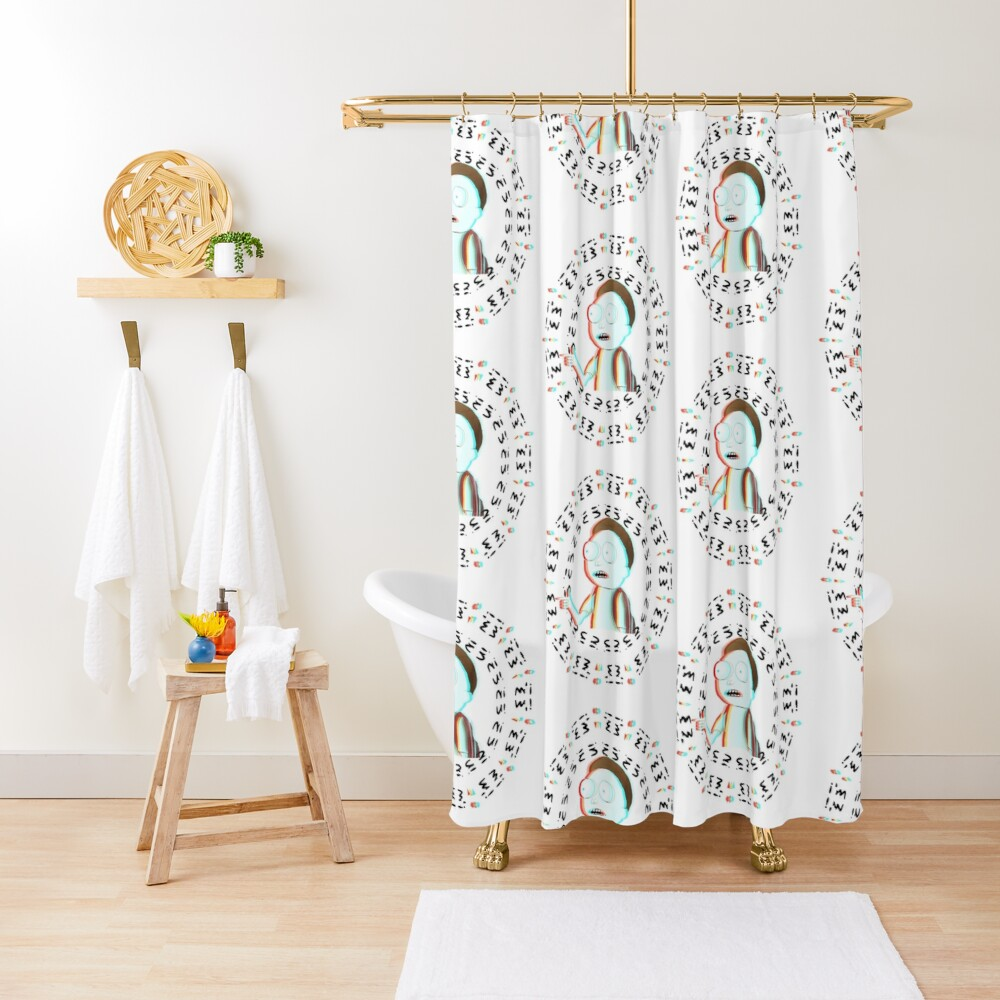 Rick and Morty TM - I'm In  Shower Curtain