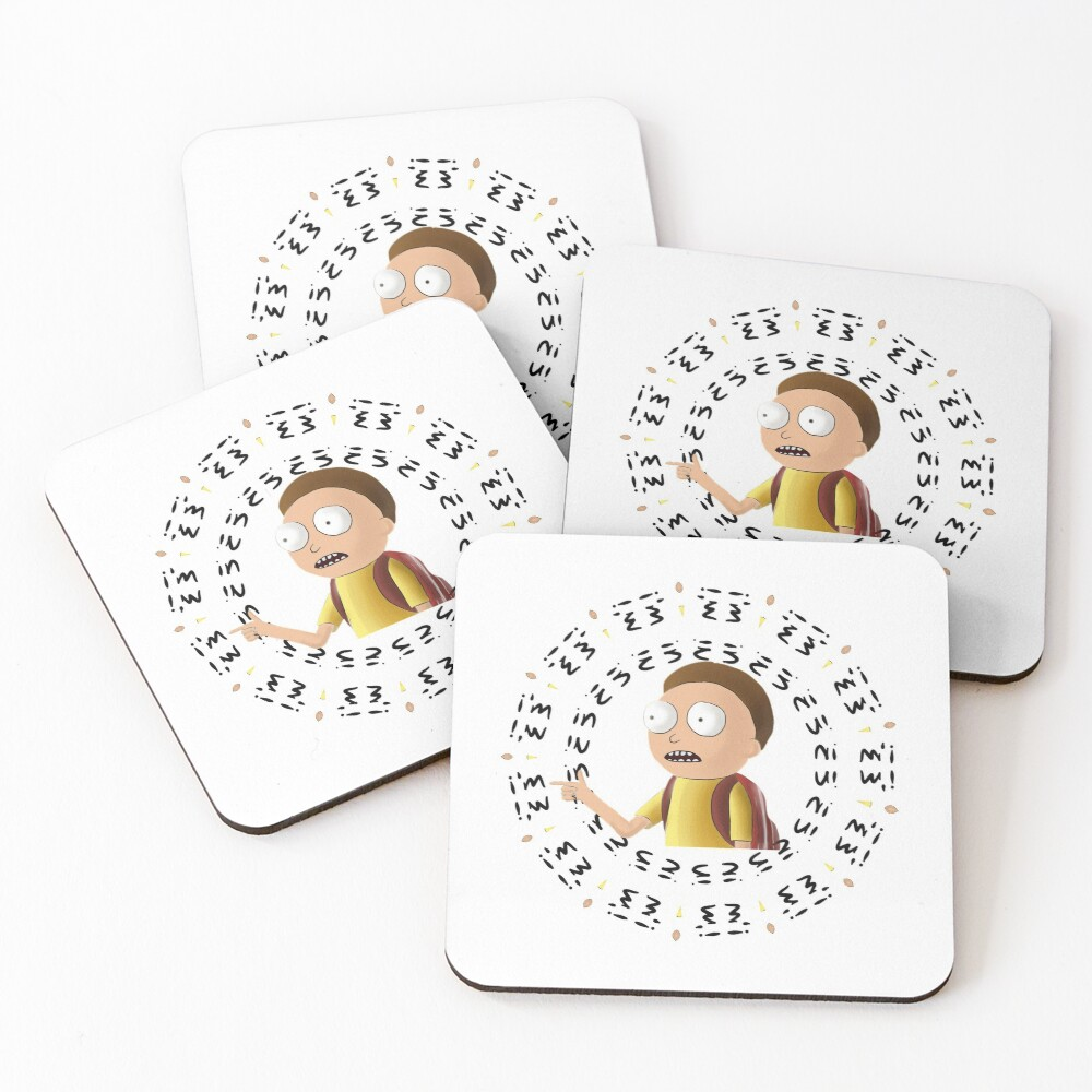 Rick and Morty TM - I'm In -2 Coasters (Set of 4)