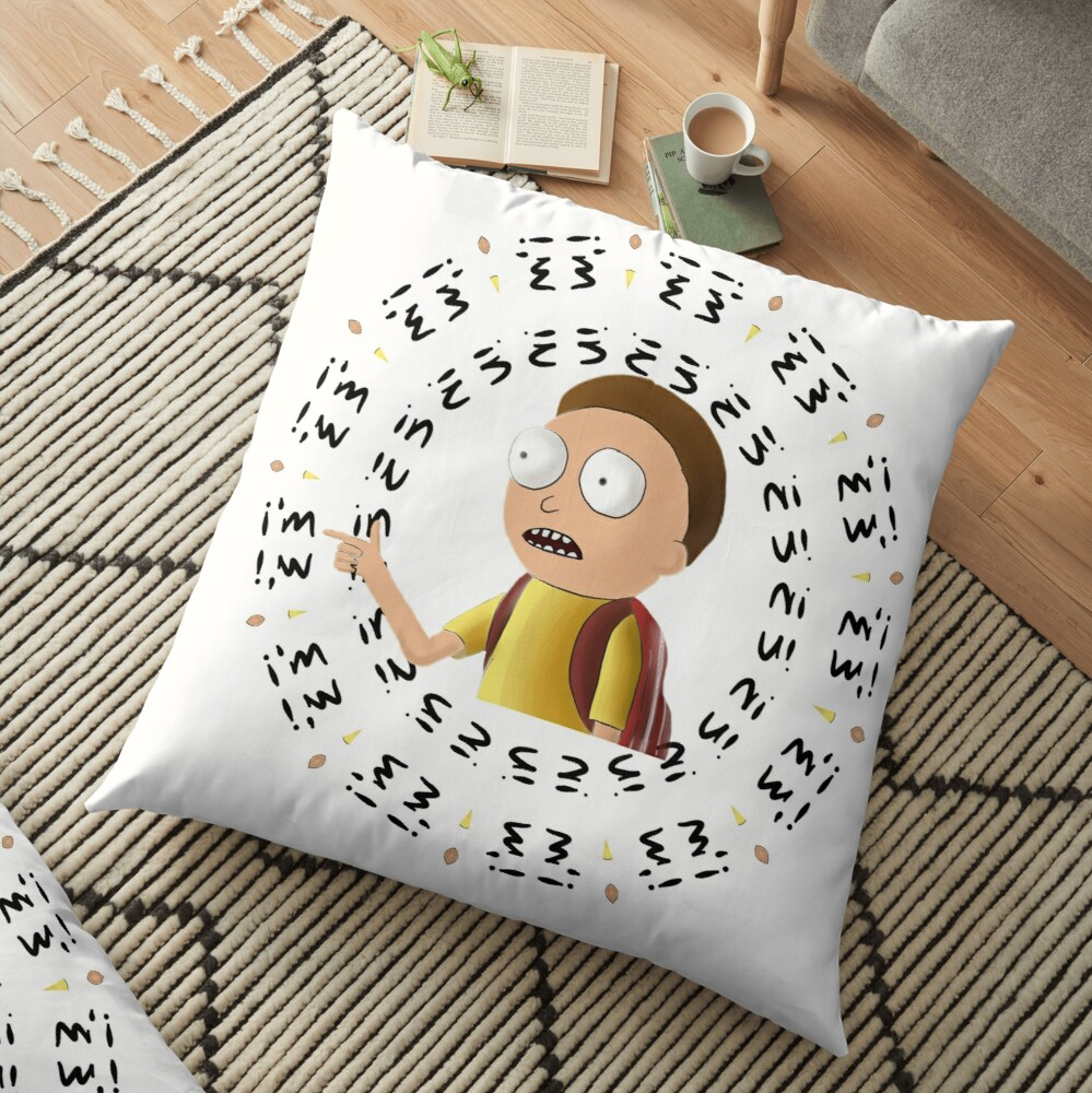 Rick and Morty TM - I'm In -2 Floor Pillow