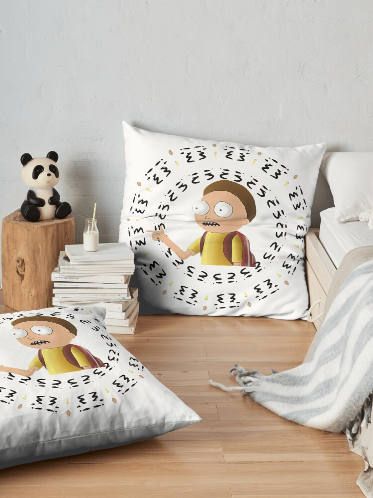 Alternate view of Rick and Morty TM - I'm In -2 Floor Pillow