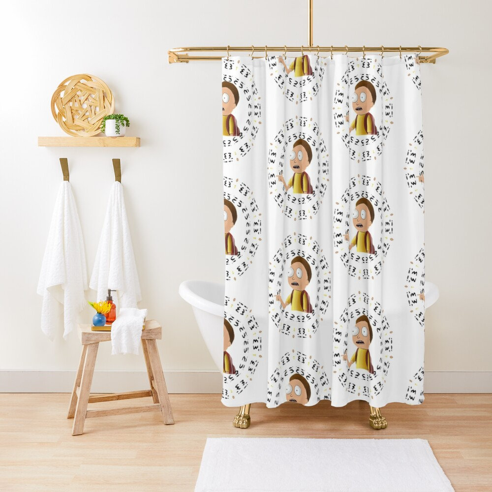 Rick and Morty TM - I'm In -2 Shower Curtain