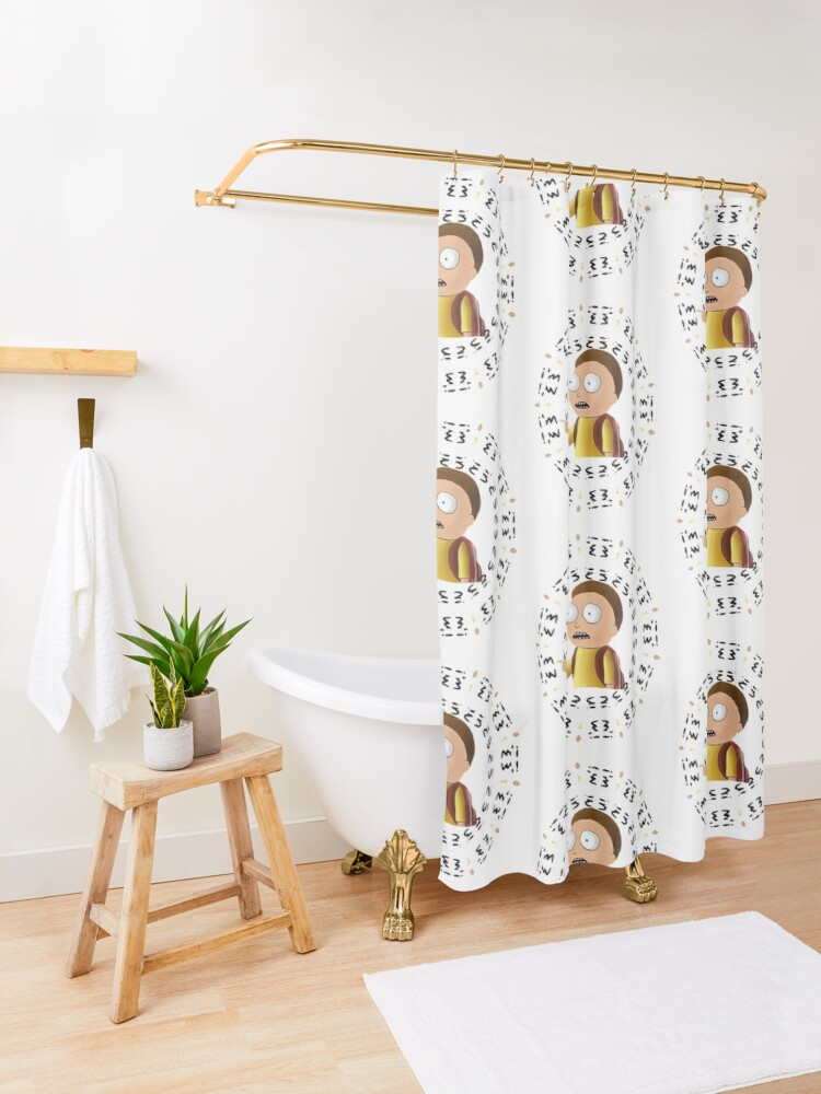 Alternate view of Rick and Morty TM - I'm In -2 Shower Curtain