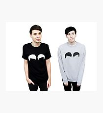 Dan und Phil Fotodruck