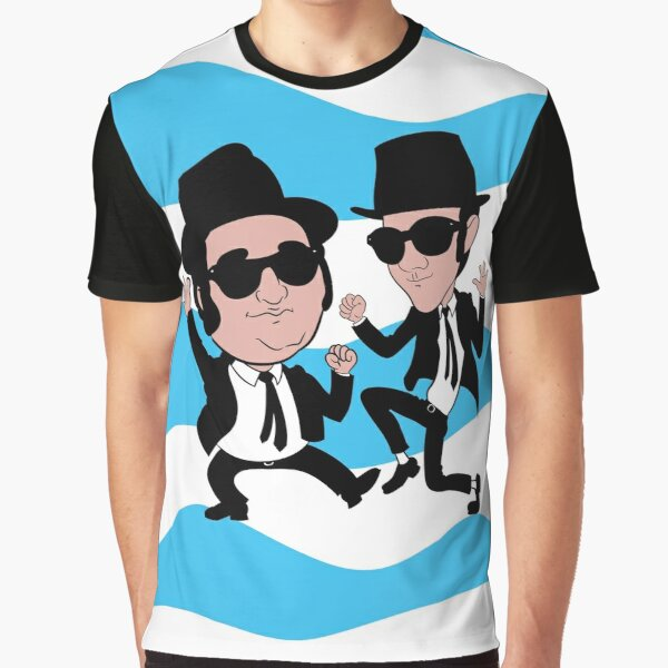 Jake and Elwood Blues Graphic T-Shirt