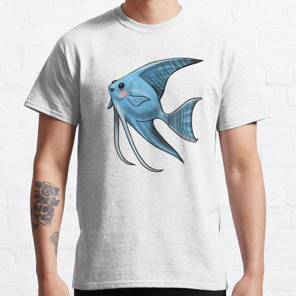 Blue Blushing Angelfish Classic T-Shirt
