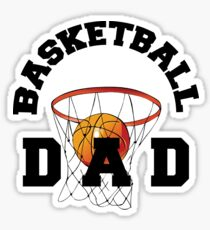 Basketball Dad Sticker