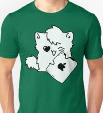 Kitty Loves iDevices! (shirt) T-Shirt