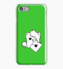 Kitty Loves iDevices! (case) iPhone Case/Skin