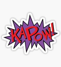 kapow Sticker