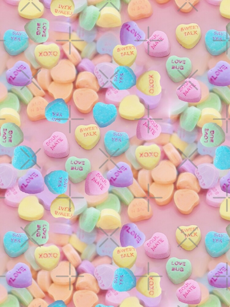 valentines candy hearts by gossiprag