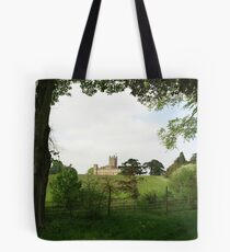 Rolling hills towards Downton Abbey Tote Bag