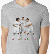 marcelo and cristiano ronaldo and james Mens V-Neck T-Shirt