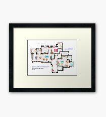 Apartments of Will Truman, Grace Adler and Jack MacFarland Framed Print